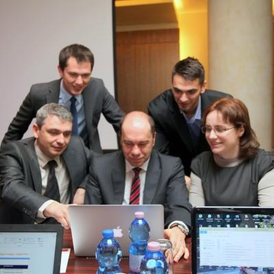 Iura Zambitschi, Bogdan Rusea, Gabriel Constantinescu, Alexandru Aldea, Eleonora Ion