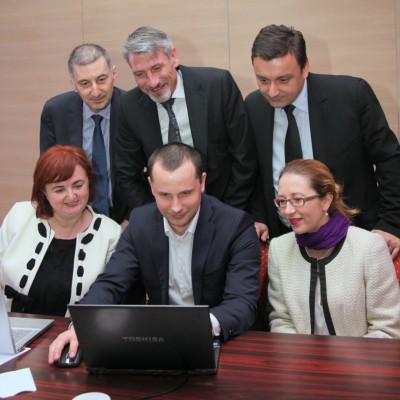 Camelia Dobre, Adrian Sandu, Florin Porojan, Ovidiu Ababei, Auras Apostu, Valentina Saygo