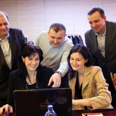 Manea Danut, Mihaela Buta, Marius Mihaila, Ramon Apostu, Cristi Sima